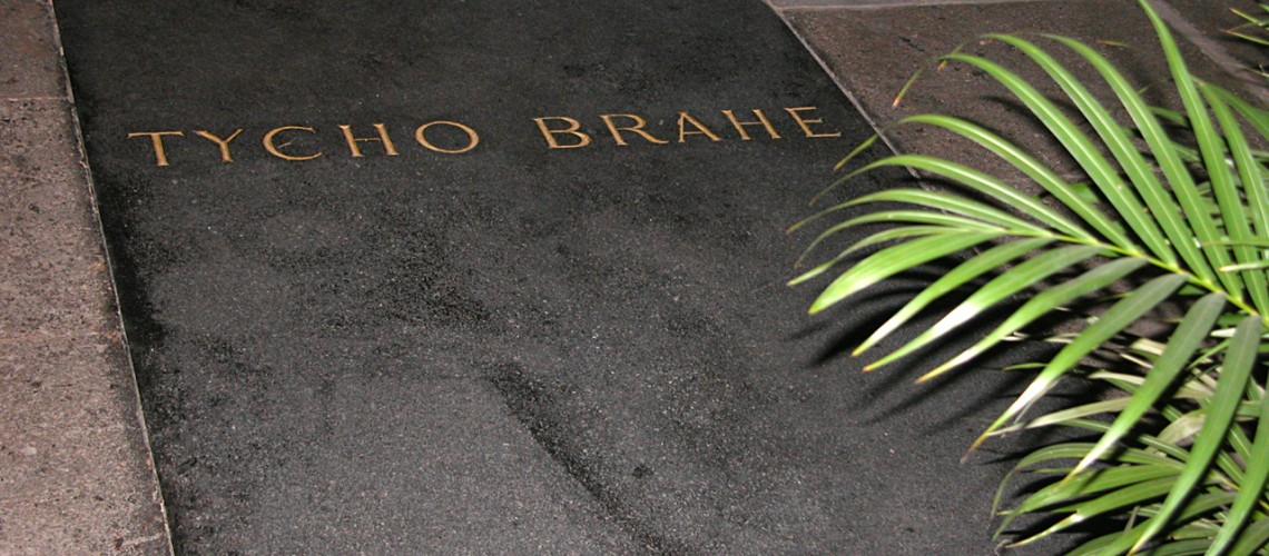 Tycho Brahe Grave